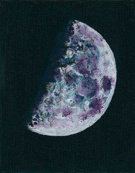 Moon paintings