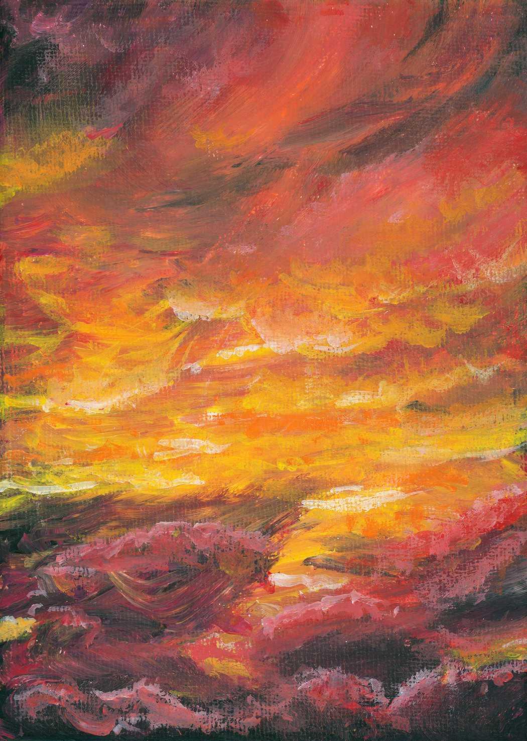 Cloud Based Diet 5 ~ Fiery Sky